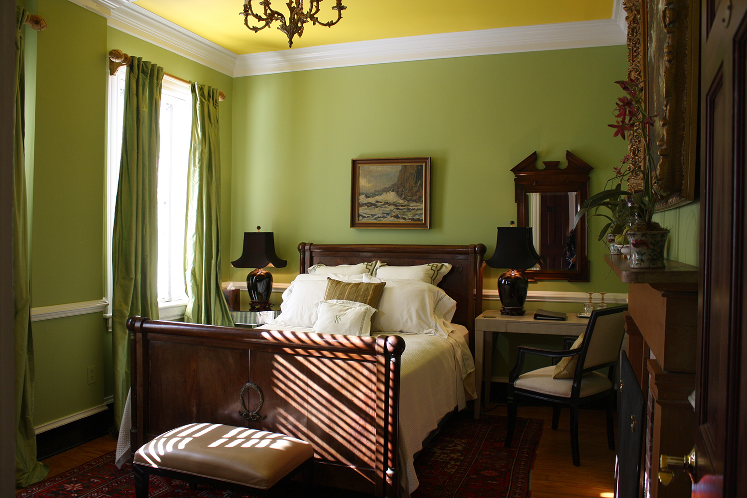 John Kelly Bedroom, The Inn at Court Square, Charlottesville, Virginia