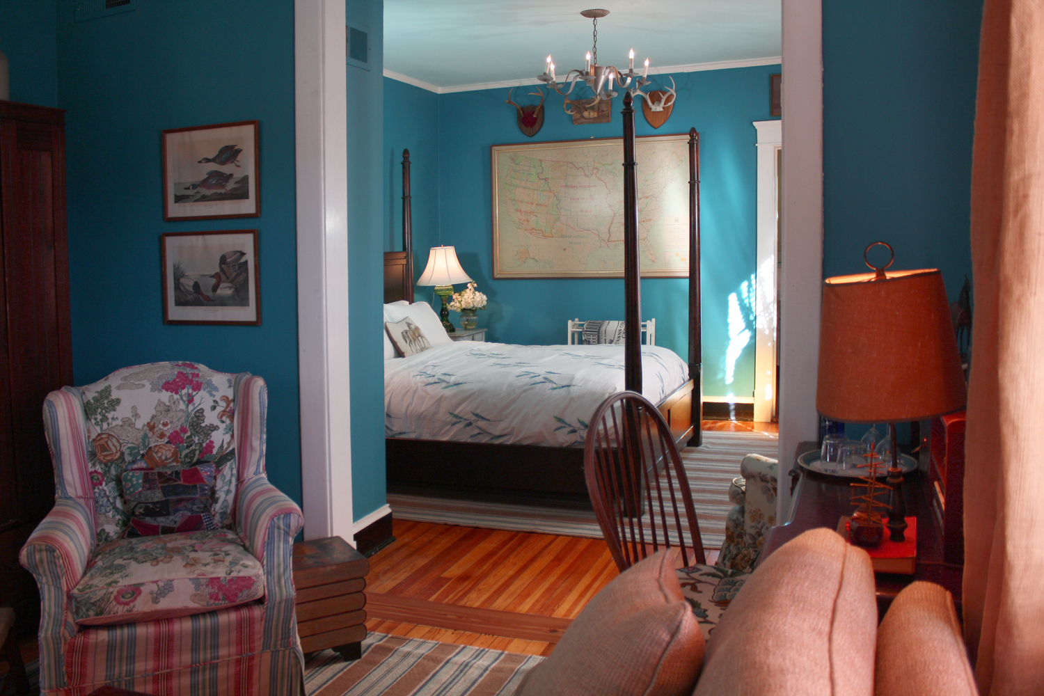 Cannie Collins Bedroom, The Inn at Court Square, Charlottesville, Virginia