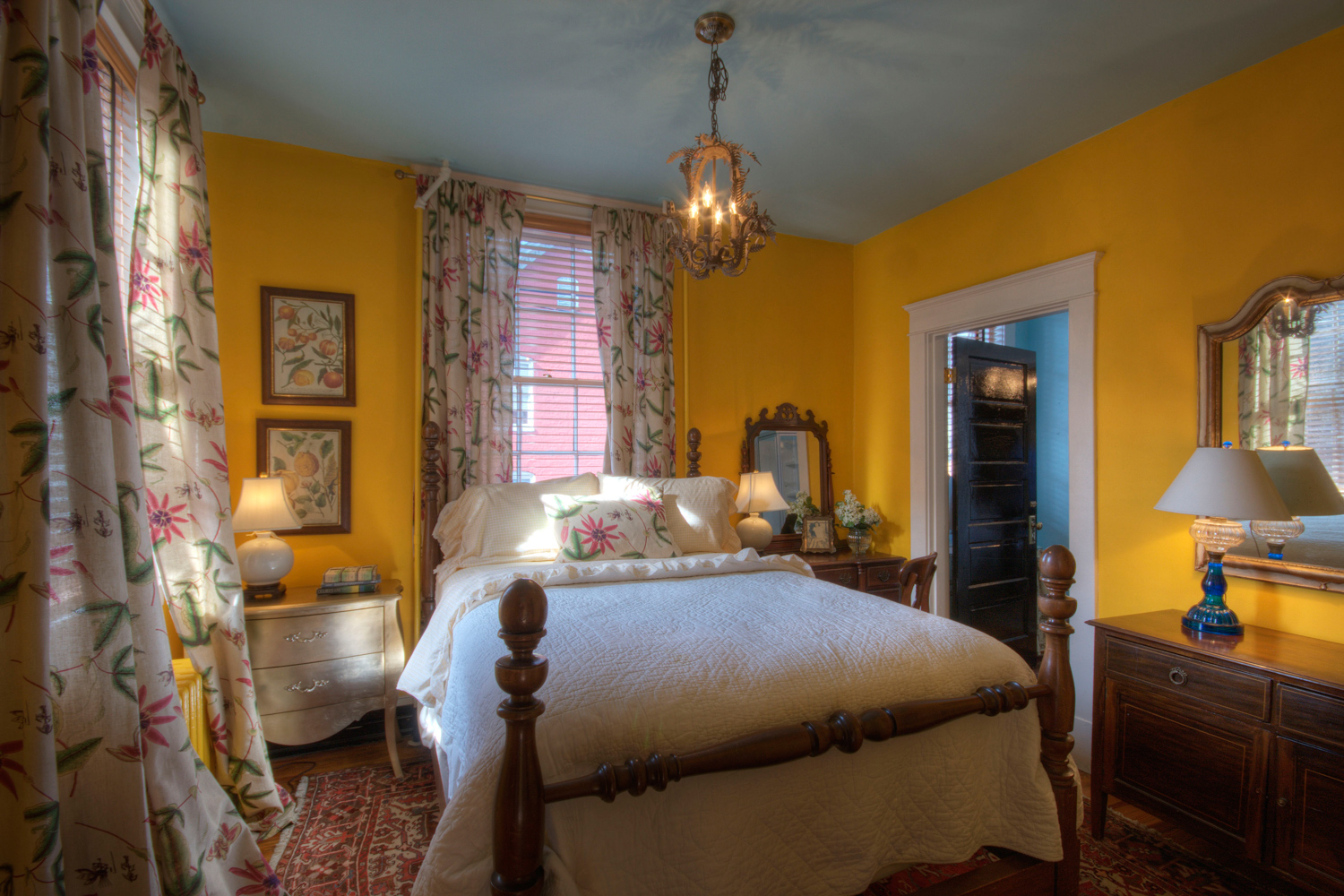 Carleen Ellis Bedroom, The Inn at Court Square, Charlottesville, Virginia