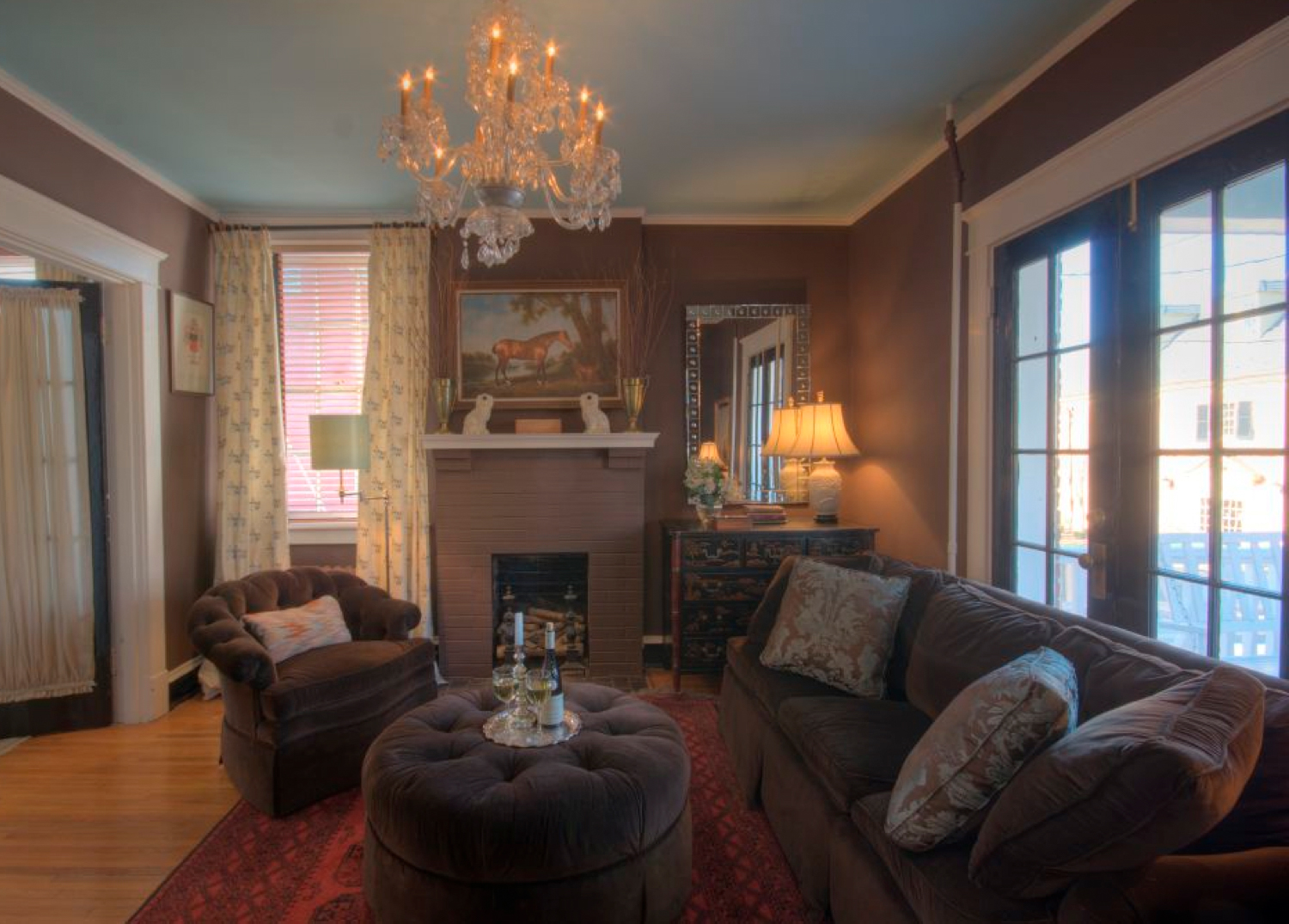 Ray Deloach Sitting Room, The Inn at Court Square, Charlottesville, Virginia