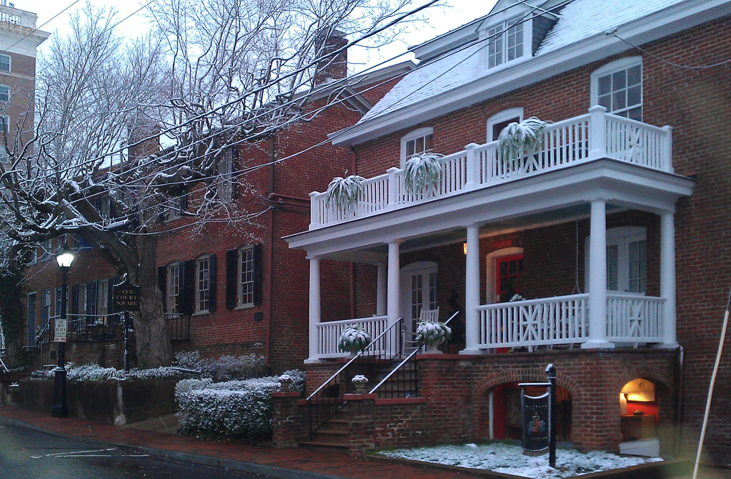 Molly Johnson House, The Inn at Court Square, Charlottesville, Virginia