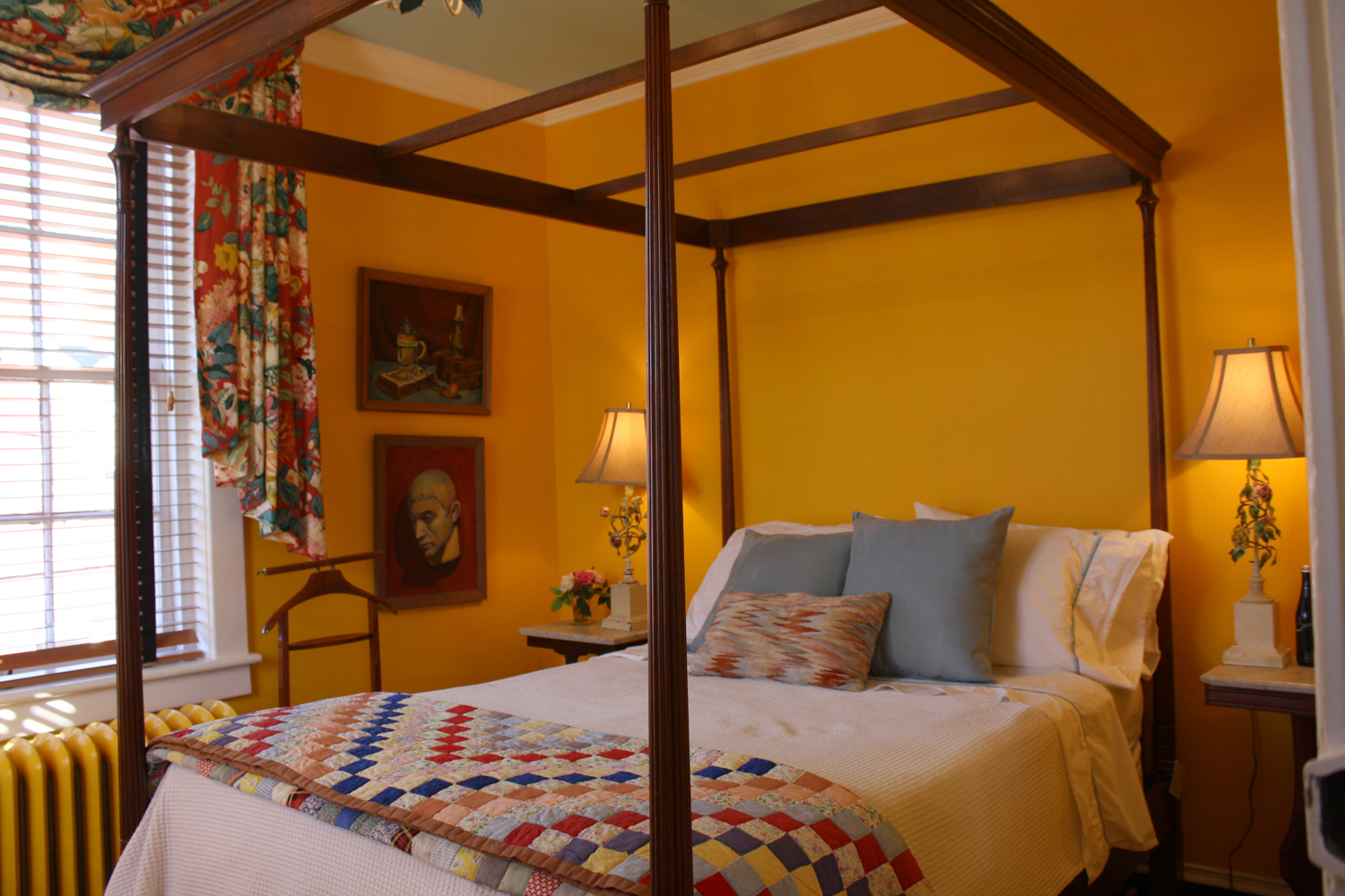 Lilly Mae Riley Bedroom,The Inn at Court Square, Charlottesville, Virginia
