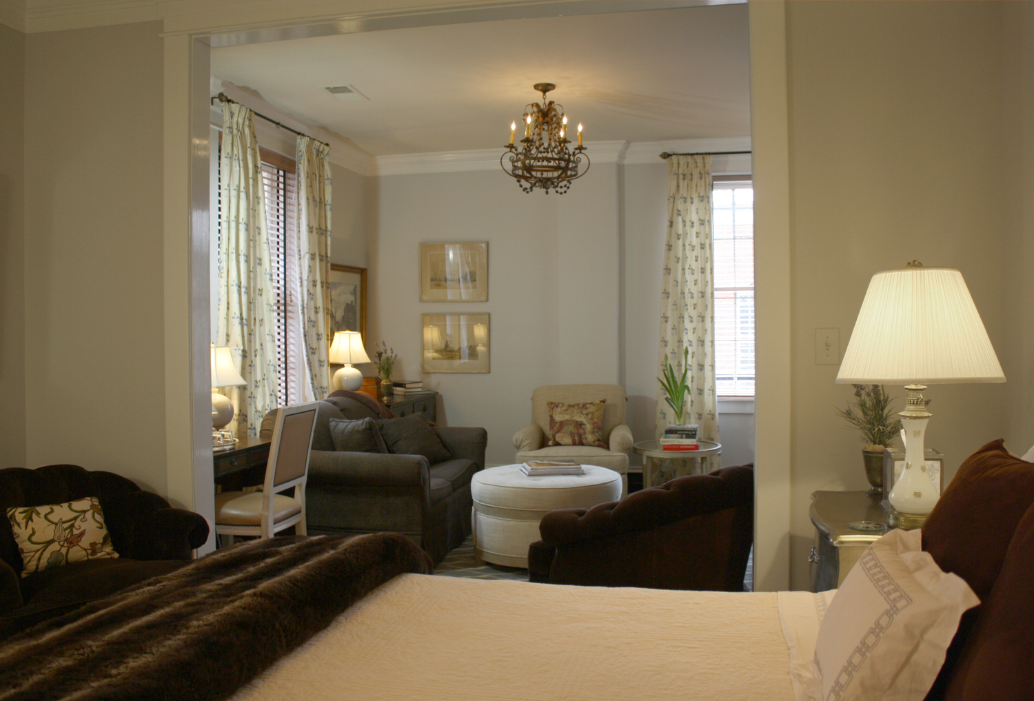 Myrtle Ellis Suite,The Inn at Court Square, Charlottesville, Virginia