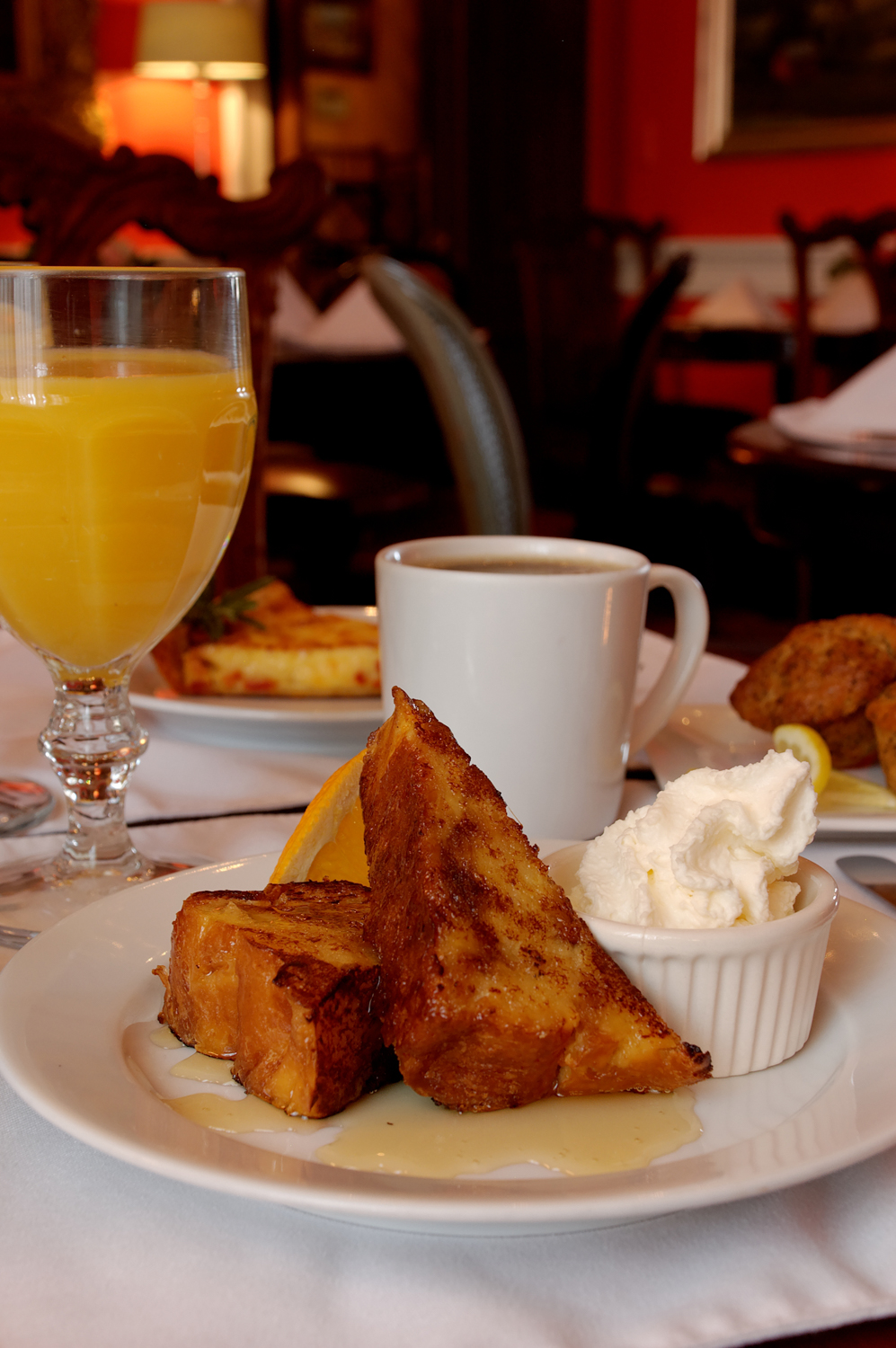 Breakfast at The Inn at Court Square