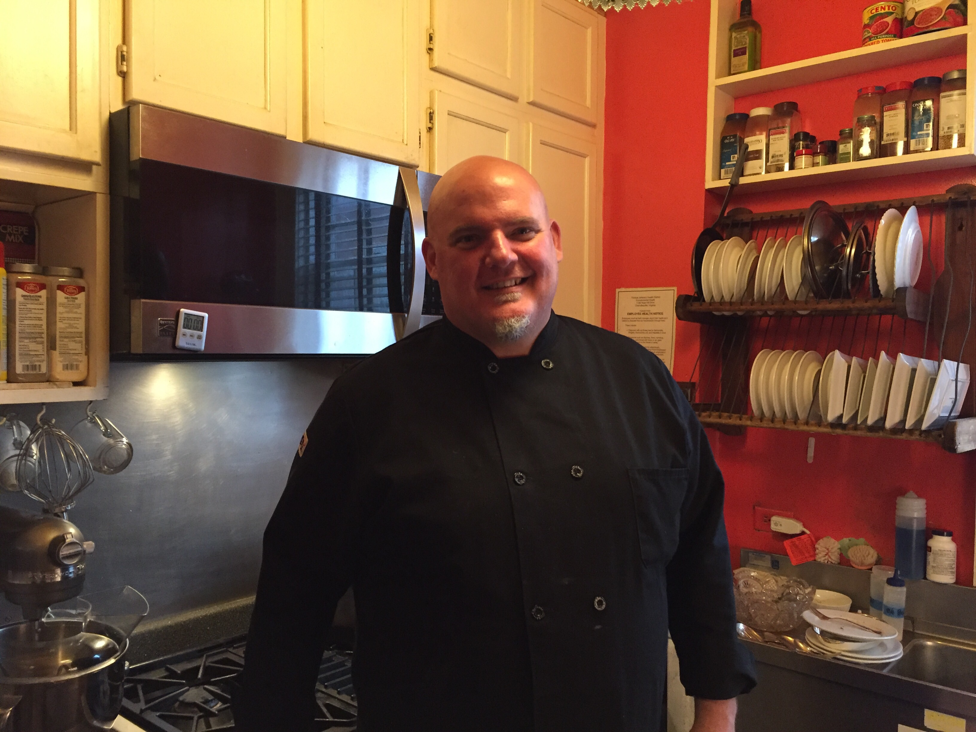Chef jim mccullough comes home to the inn at court square Chef comes to your house