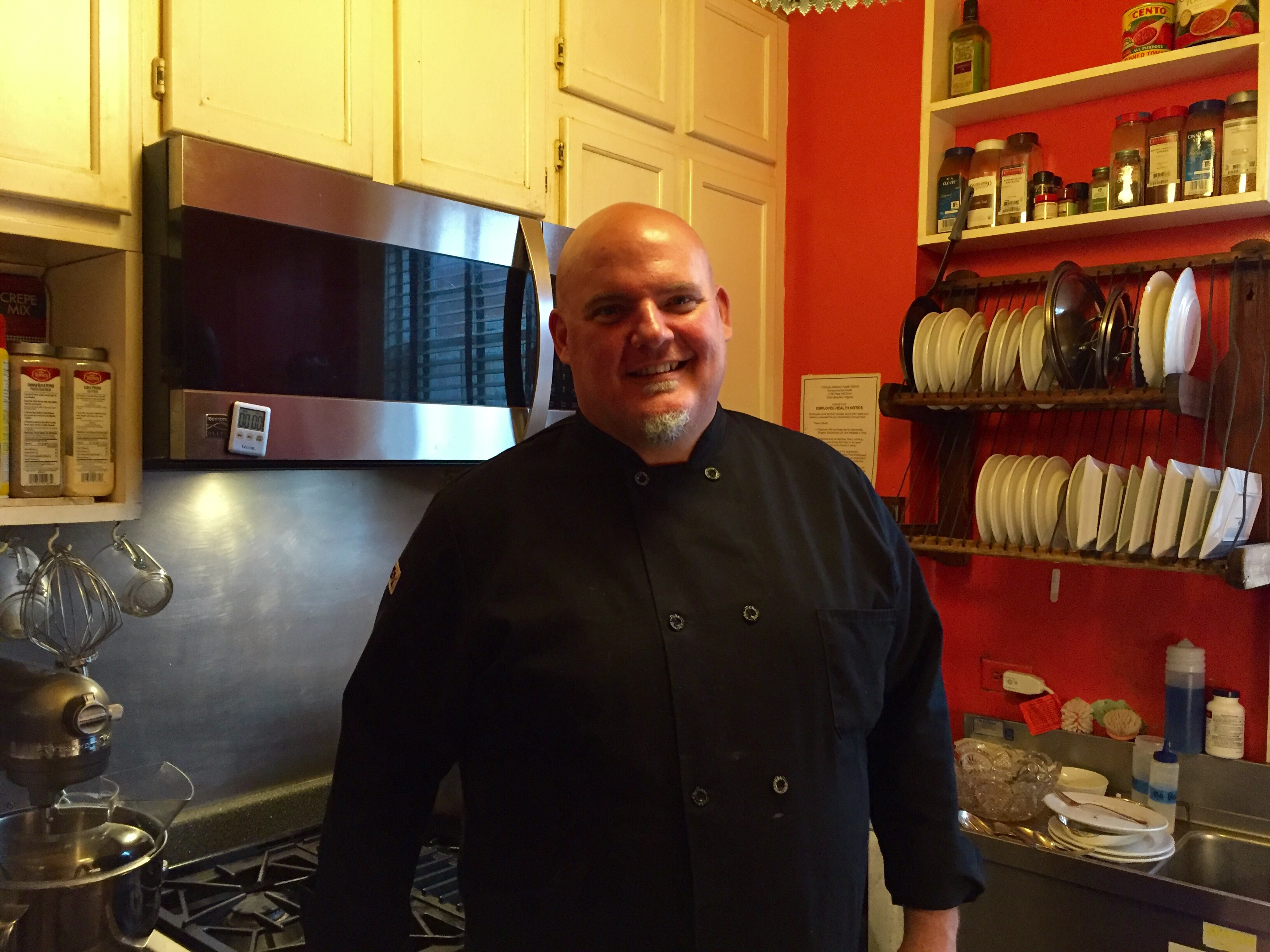 Chef jim mccullough comes home to the inn at court square for Chef comes to your house